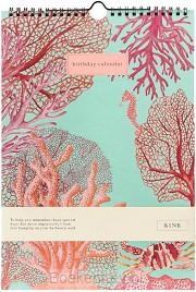 &INK Verjaardagskalender-Aqua