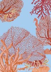 &INK Poster Aqua A4 - Blauw