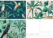 &INK kaartenset - 15 stuks - Botanisch