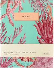 &INK Notitieboek Aqua