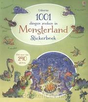 1001 dingen zoeken in monsterland - stickerboek