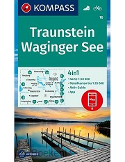 Traunstein, Waginger See 1:50 000