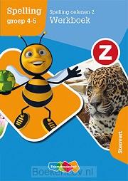2 Spelling oefenen groep 4-5 / Z-Spelling / Werkboek