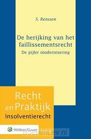 De herijking van het faillissementsrecht-de pijler modernisering