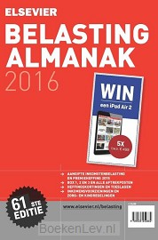 Elsevier belasting almanak / 2016
