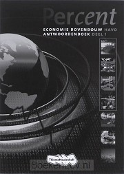 1 Economie bovenbouw havo / Percent / Antwoordenboek