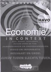 1 Havo / Economie in Context / Antwoordenboek