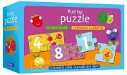 Funny puzzle - ik leer tellen / Funny puzzle - j'apprends à compter