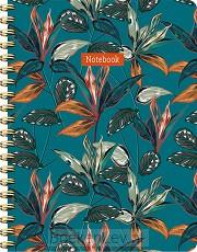 Tropical spiraalboek groot (lijnen)
