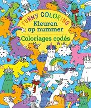 Funny Coloring - Kleuren op nummer / Funny Coloring - Coloriages codés
