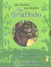 De Gruffalo / Het kind van de Gruffalo kartonboekjes in cassette