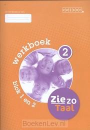 2 blok 1 en 2 / Ziezo taal / Werkboek