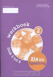 2 blok 5 tot 8 / Ziezo spelling / Werkboek