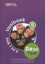 5 blok 1 tot 4 / Ziezo taal / Taalboek