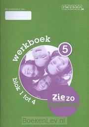 5 blok 1 tot 4 / Ziezo spelling / Werkboek