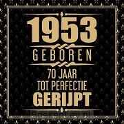 1951 Geboren 70 Jaar Tot Perfectie Gerijpt