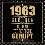 1961 Geboren 60 Jaar Tot Perfectie Gerijpt