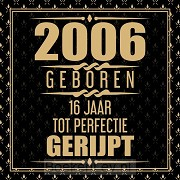 2005 Geboren 16 Jaar Tot Perfectie Gerijpt
