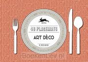 48 placemats Art Déco