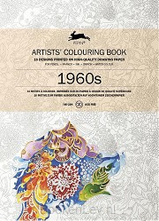 1960S / Artists colouring book