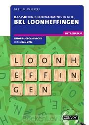 2021-2022 / BKL Loonheffingen / Theorie-/opgavenboek