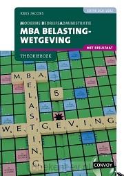 2021-2022 / MBA Belastingwetgeving met resultaat / Theorieboek