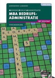 4e druk / MBA Bedrijfsadministratie met resultaat / Theorieboek