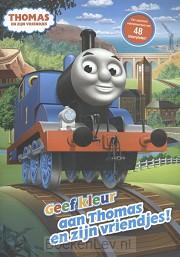 Geef kleur aan Thomas en zijn vriendjes