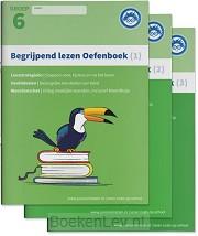 1, 2 en 3 - Groep 6 / Begrijpend Lezen Oefenboeken Compleet / Begrijpen lezen opgaven- en antwoordenboek,Verschillende type teksten en bijbehorende doelen.