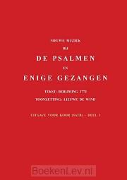 1 / Nieuwe muziek bij de psalmen en enige gezangen / Uitgave voor koor (satb)