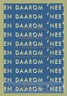 20 x Daarom 'NEE!'(isbn 978-94-92161-13-0) in 1 pakket