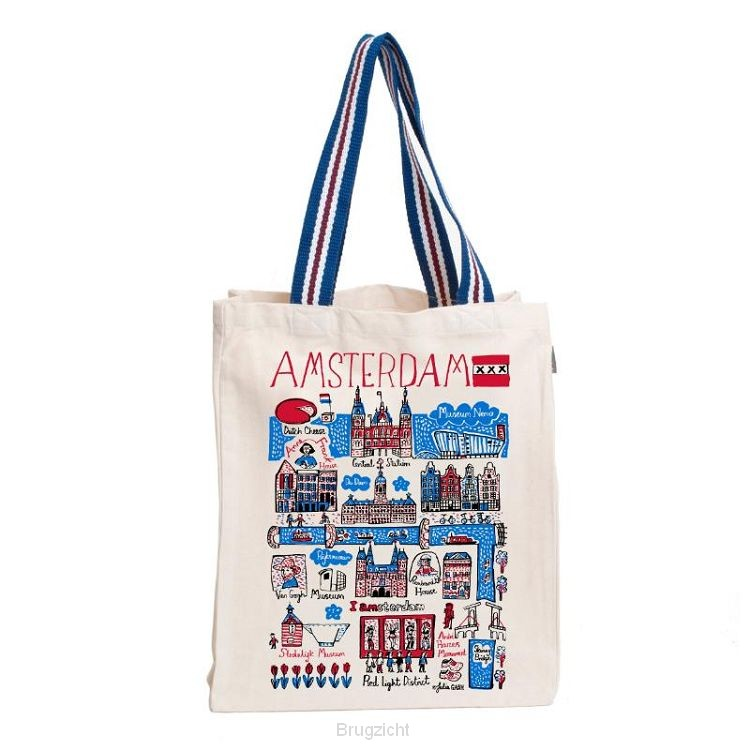 Tote bag Shopper Amsterdam large