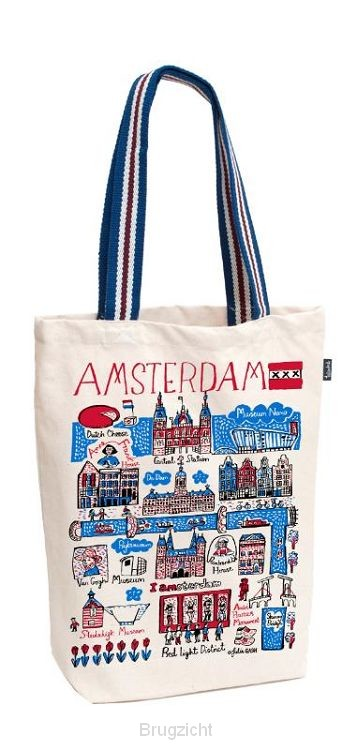 Tote bag Shopper Amsterdam medium