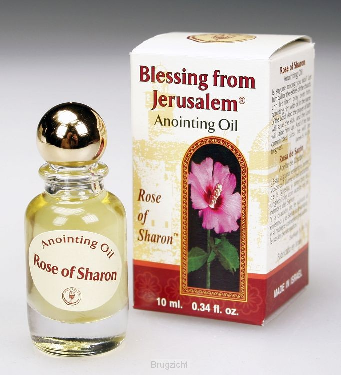 Anointing oil rose of saron 10ml