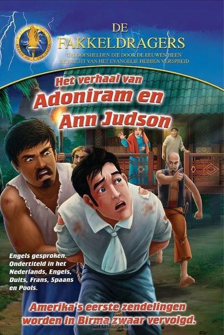 DVD Verhaal van Adoniram en Ann Judson