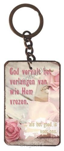 sleutelhanger  God vervult