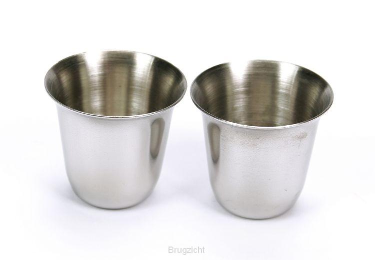Avondmaalcups stainless steel