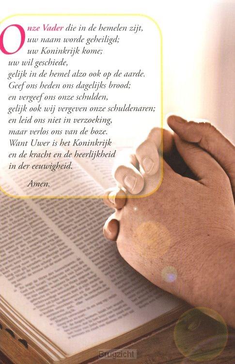 Schrijfblok Onze Vader