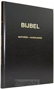 Bijbel NT Grote letterbijbel stv.2dln.