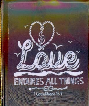 Sleutelhanger Love endures