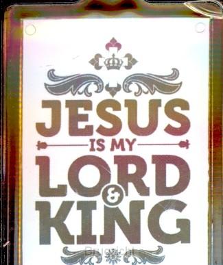 Sleutelhanger Jesus is my Lord