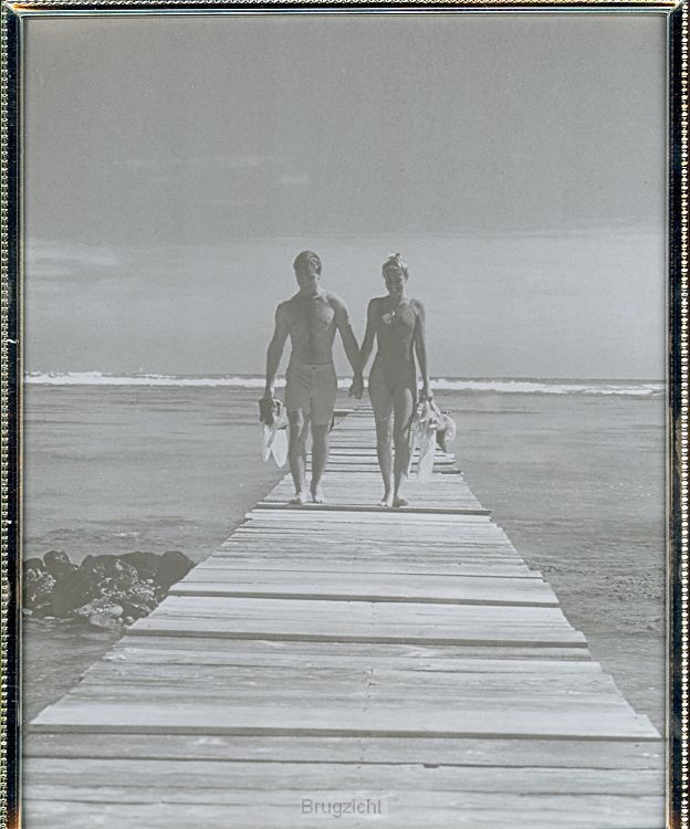 Fotolijst zilv. sm.parel 20x25