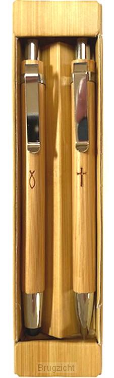 Bamboo Pen and Pencil