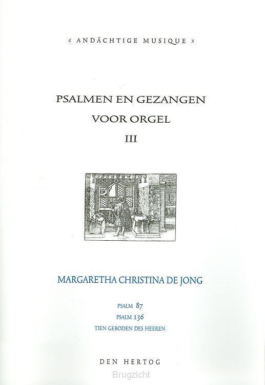 Psalmen en gezangen voor orgel