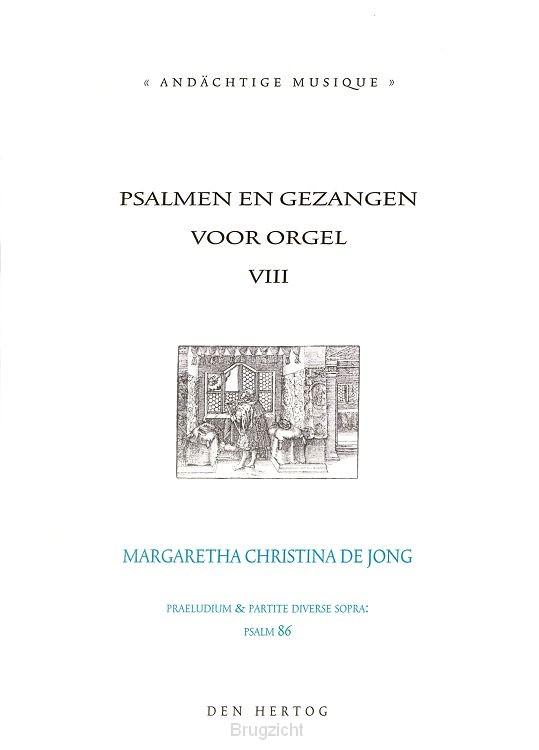Psalmen en gezangen voor orgel dl.8