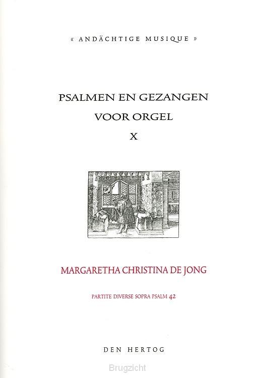 Psalmen en gezangen 10 voor orgel