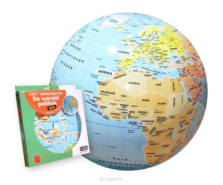 Opblaasbare bol 42 wereld politiek