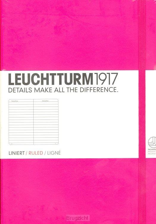 Notebook Medium new pink, ruled