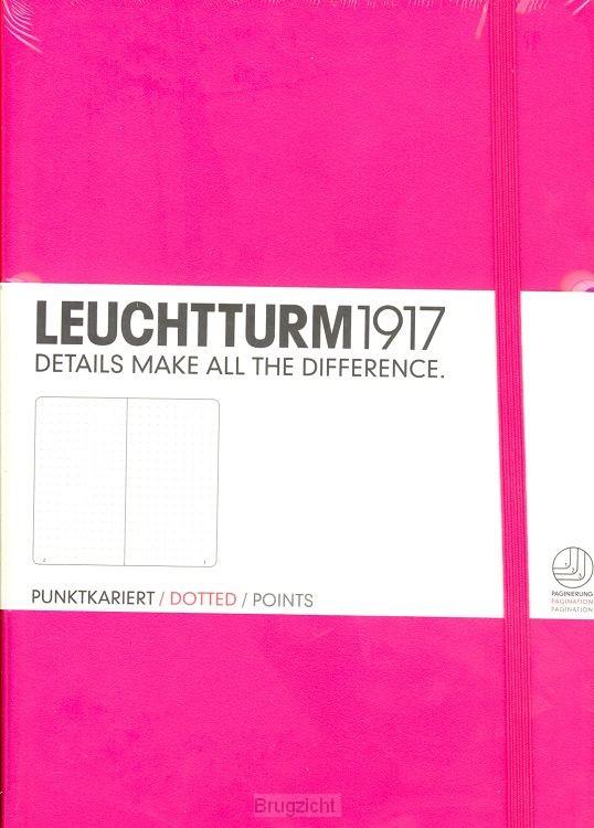 Notebook Medium new pink, dotted