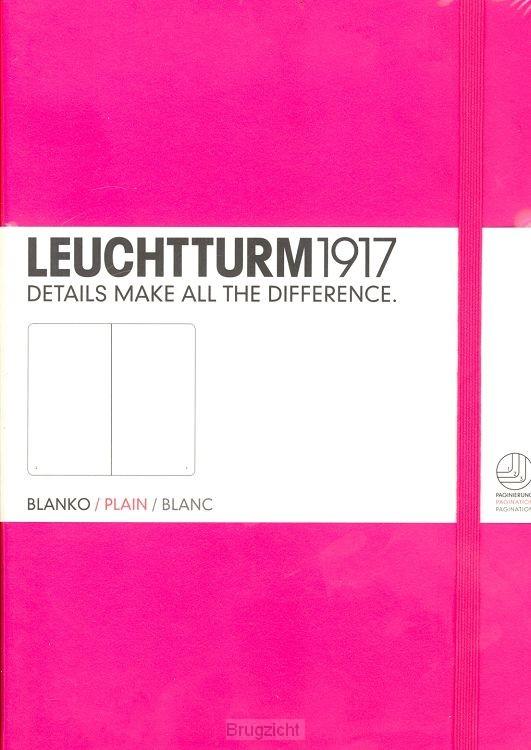 Notebook Medium new pink, plain